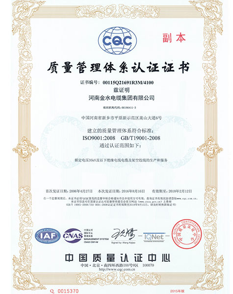 ISO-9001-IN-CHINESE