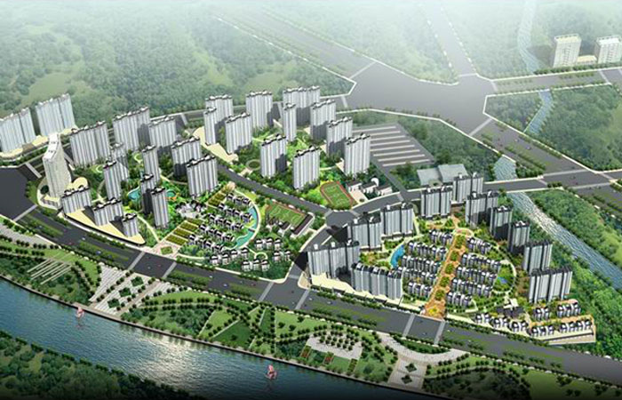 Real estate - rev FuZhongHua city rainbow